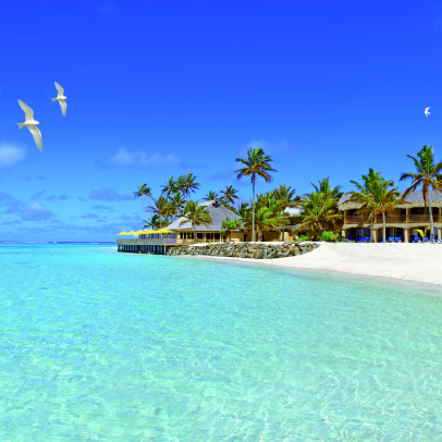 polinesia sanctuary-rarotonga-on-the-beach-