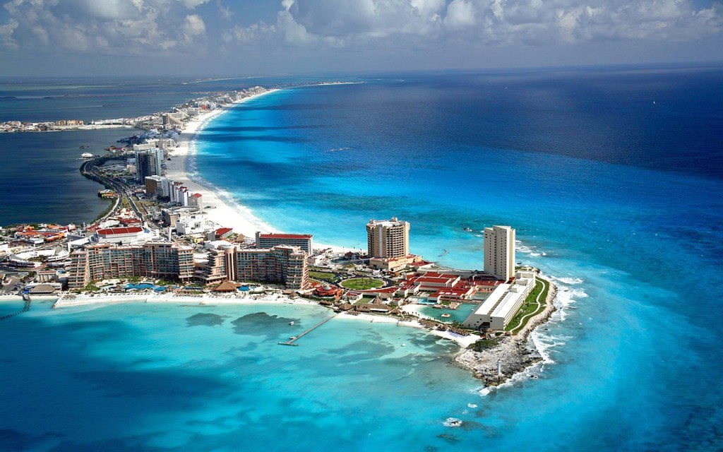 Messico Cancun-Overhead