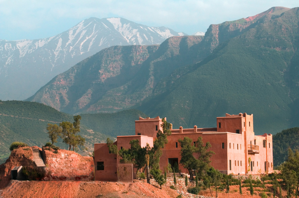 Kasbah Bab Ourika, Ourika Valley, Marrakech, Morocco. Photographed By Alan Keohane