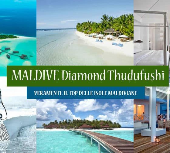 """Resort """"Sea Diamond Thudufushi"""" davvero il TOP delle MALDIVE - Offerte"""