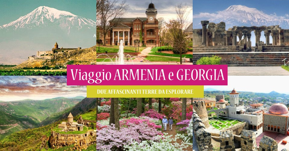 Risultati immagini per armenia e georgia
