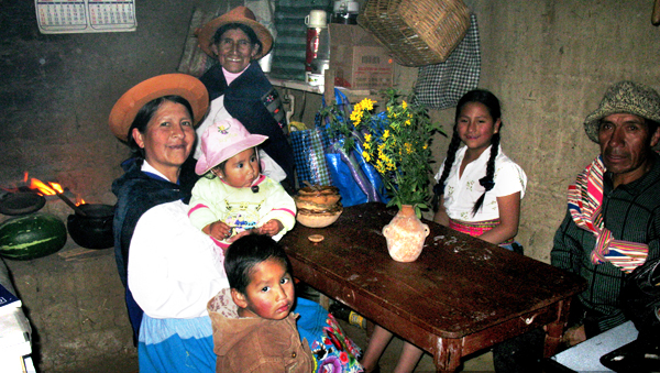 Famiglia andina