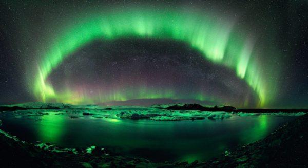 Tromso e aurora boreale