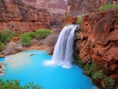 Viaggio in USA: Alla scoperta delle Cascate Havasu – Grand Canyon National Park