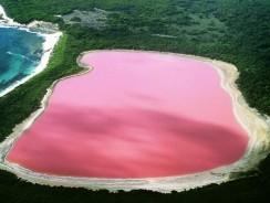 """Australia. Il Lago Hillier e il suo Strano Color """"gomma da masticare"""""""