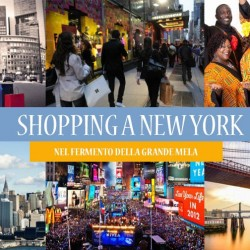 Shopping a NEW YORK | NATALE 2016 – Posti limitati