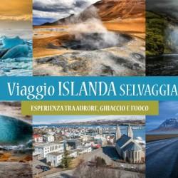 Viaggio in ISLANDA: tra Aurore, Ghiaccio e Fuoco