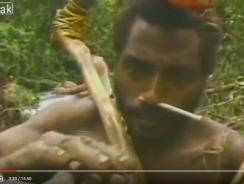 Un video emozionante dove una tribù della Papua Nuova Guinea incontra per la prima volta un uomo bianco.