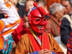 Yakchoe di Ura in Bhutan. Il Festival a Date Variabili fino all'Ultimo Giorno