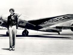 Amelia Earhart. Nel 1928 La Prima Donna a Volare da Sola sull'Atlantico