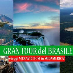 Gran Tour del Brasile – 2016 – Tra Rio de Janeiro, Iguazù, Amazzonia e Salvador!