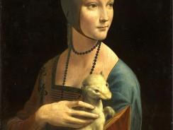 Arte dal Mondo: Dama con l'ermellino di Leonardo da Vinci