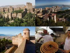 Discovering Andalucia 2018: Giorno 3. Alcazaba, Castello di Gibralfaro, vista sulla città e Casa Aranda