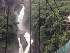 Viaggio in ECUADOR. [video] L'impressionante cascata Pailón del Diablo