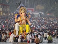 [VIDEO] INDIA: il festival di Ganesh, il dio elefante della prosperità e della saggezza