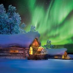 Natale 2015 a Kakslauttanen, Finlandia