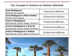 Scopri tutti i Viaggi in MADAGASCAR in ESCLUSIVA 2017