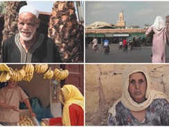 VIDEO. Mai visti colori più incredibili visitando il Marocco
