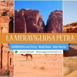 Viaggio in GIORDANIA. Petra – Wadi Rum – Mar Morto