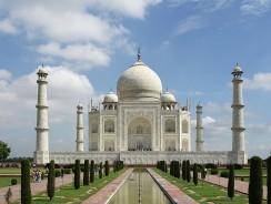 India, Il Taj Mahal Monumento all'Amore e al Romanticismo e una delle Sette Meraviglie del Mondo